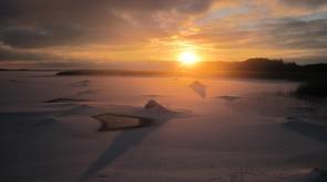 Talvine rannaelu