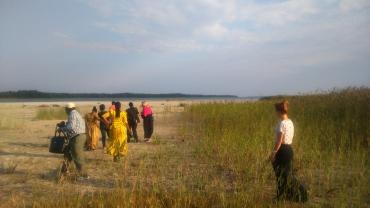 Tansaania külalised rannas