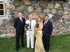 Ooperigala (vasakult: Sten Lassmann, maestro Mati Palm, Jana Boiko, Pavlo Balakin)