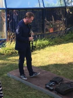 Anton Dressler klarnetil (Hiiumaa Homecoming Festival 2017)