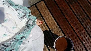 Daam peitsib alati valges kleidis